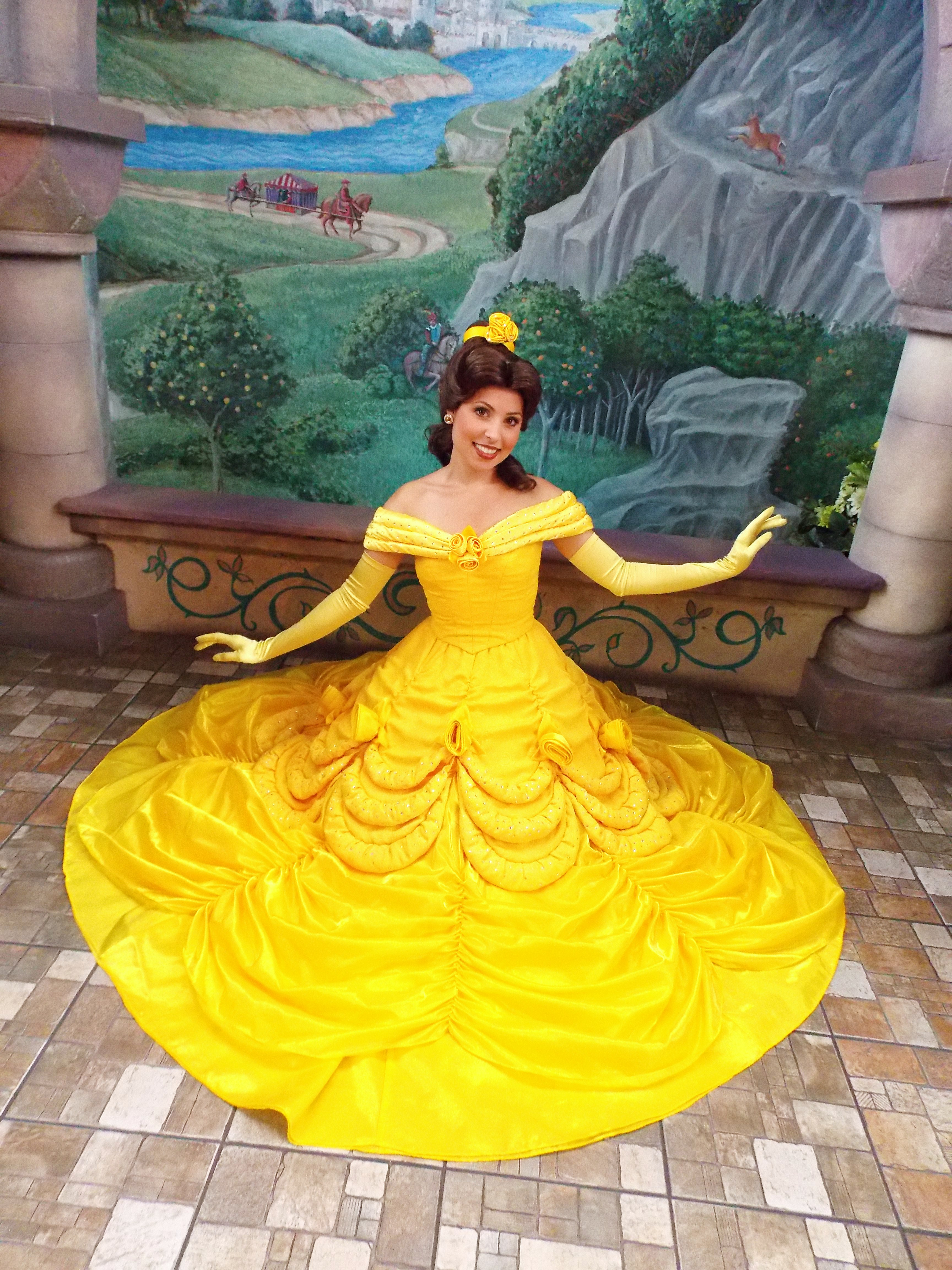 Disney Princess Belle Printable Coloring Pages