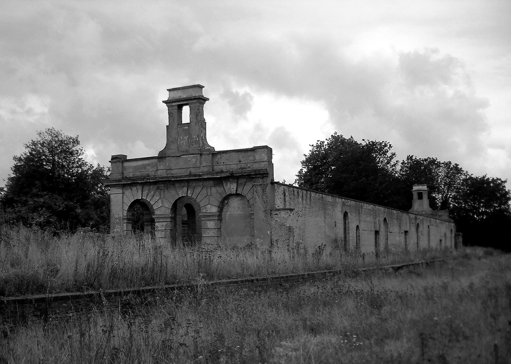England Railway Station Disused Railway Station