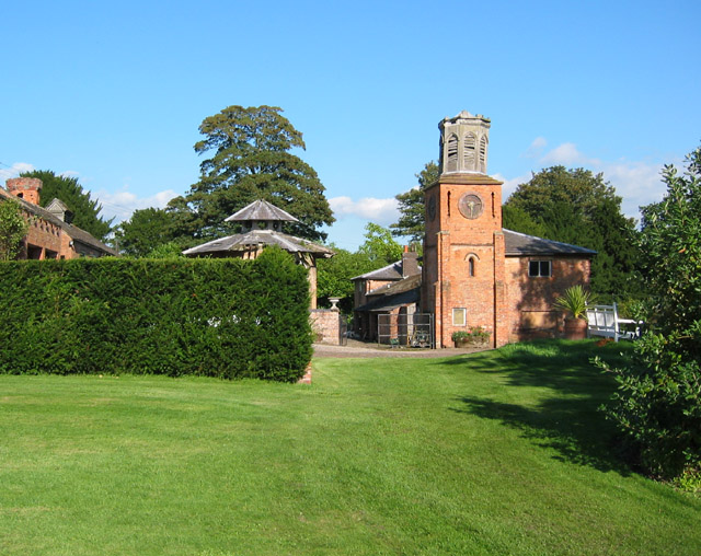 Dodcott cum Wilkesley - Combermere Abbey Clocktower