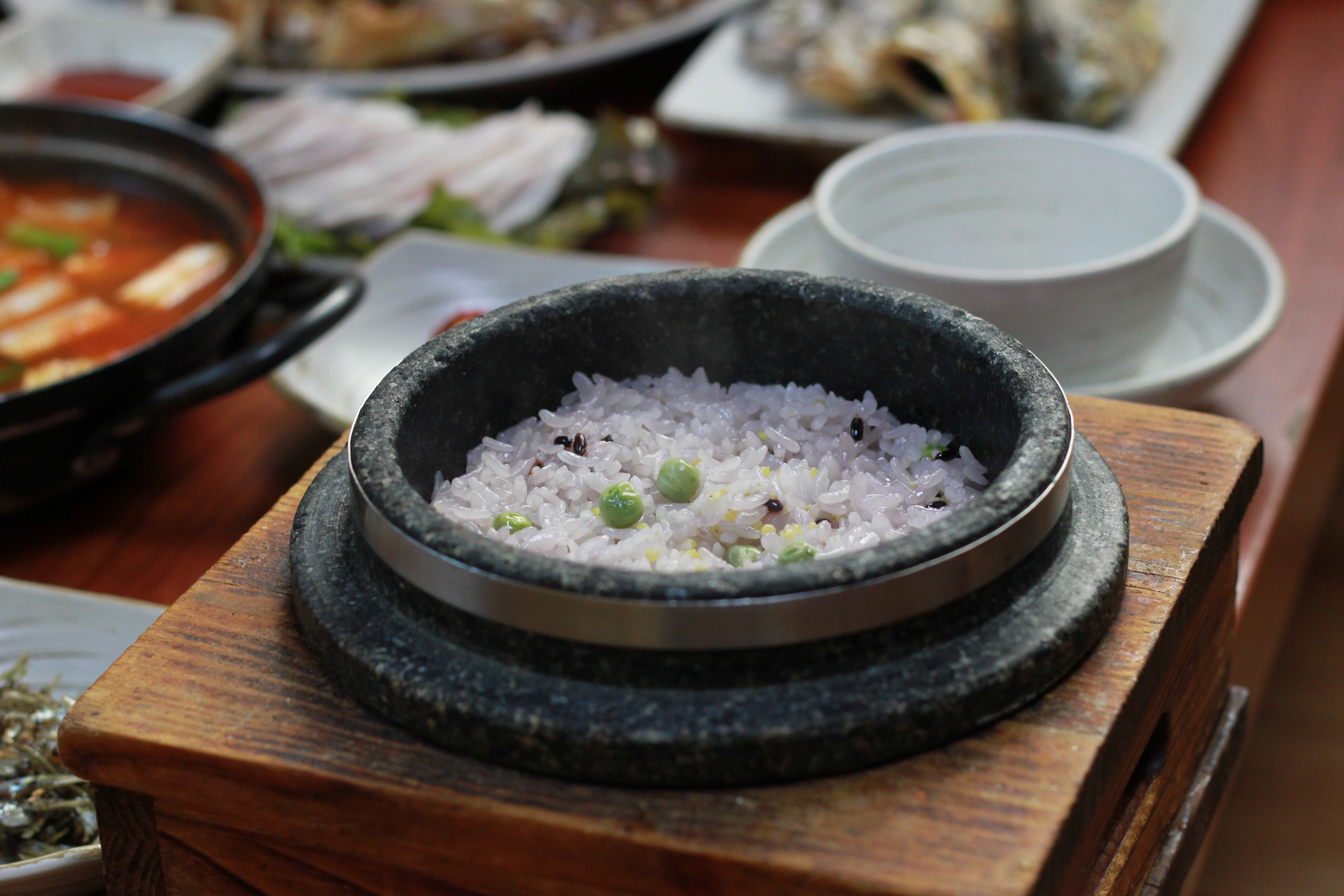 how to cook rice in stone pot