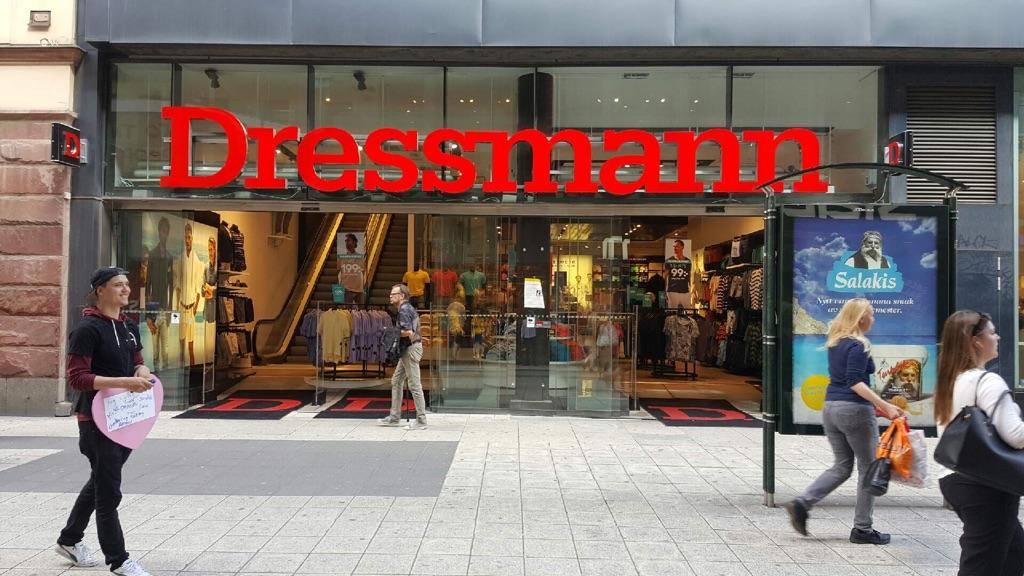 dressmann xl stockholm