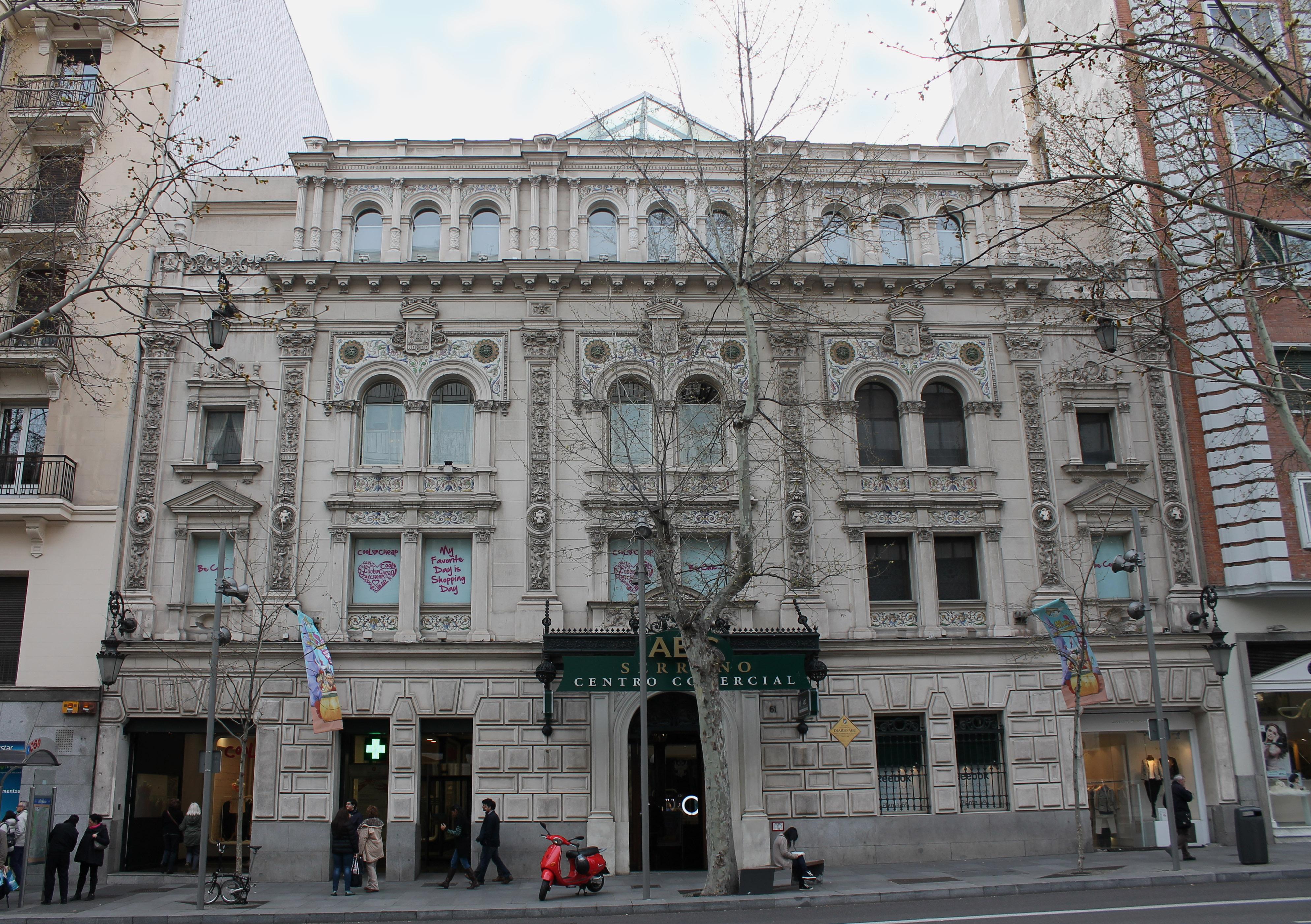 File edificio abc serrano madrid wikimedia commons - Calle serrano 55 madrid ...