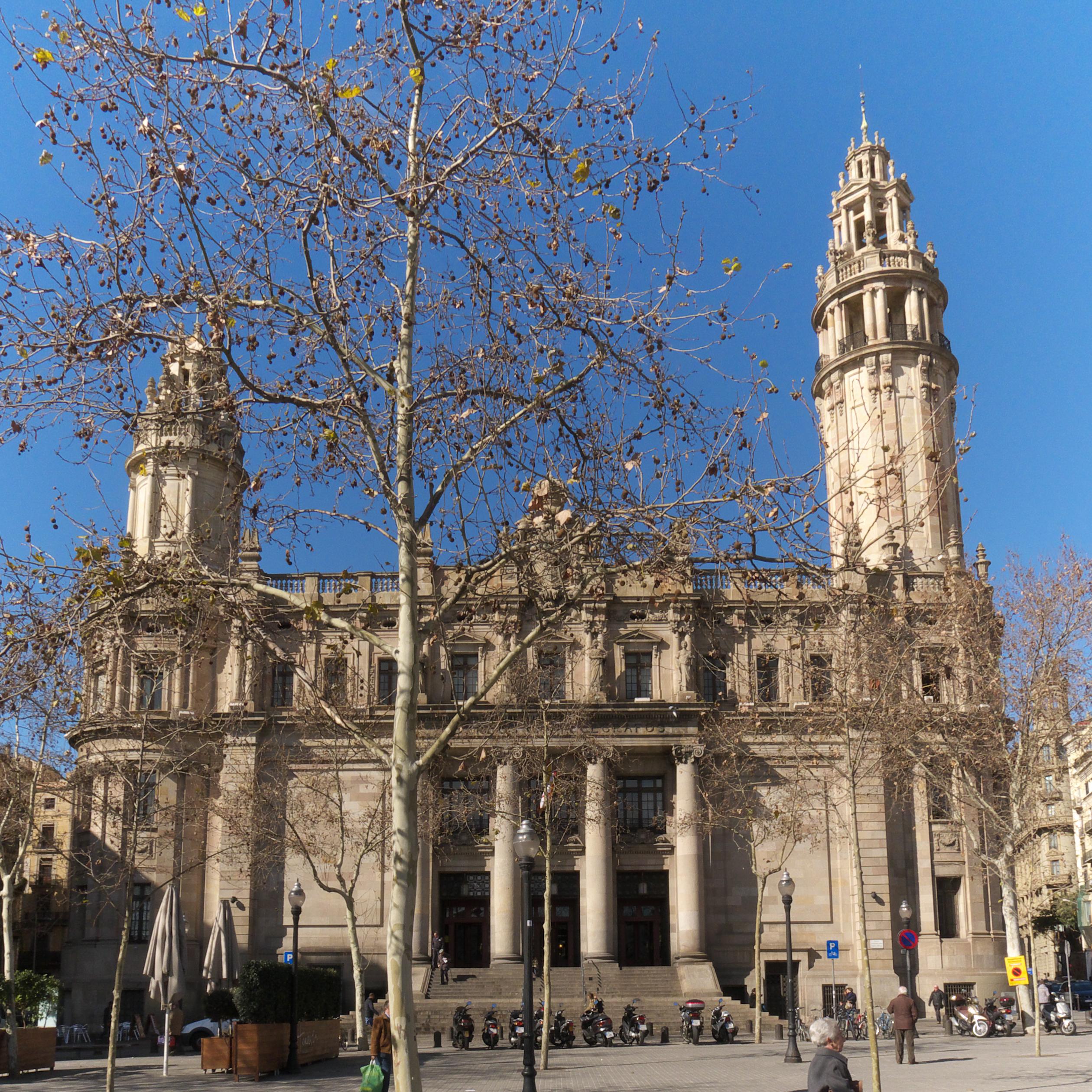 File edificio de correos wikimedia commons for Oficina de correos barcelona