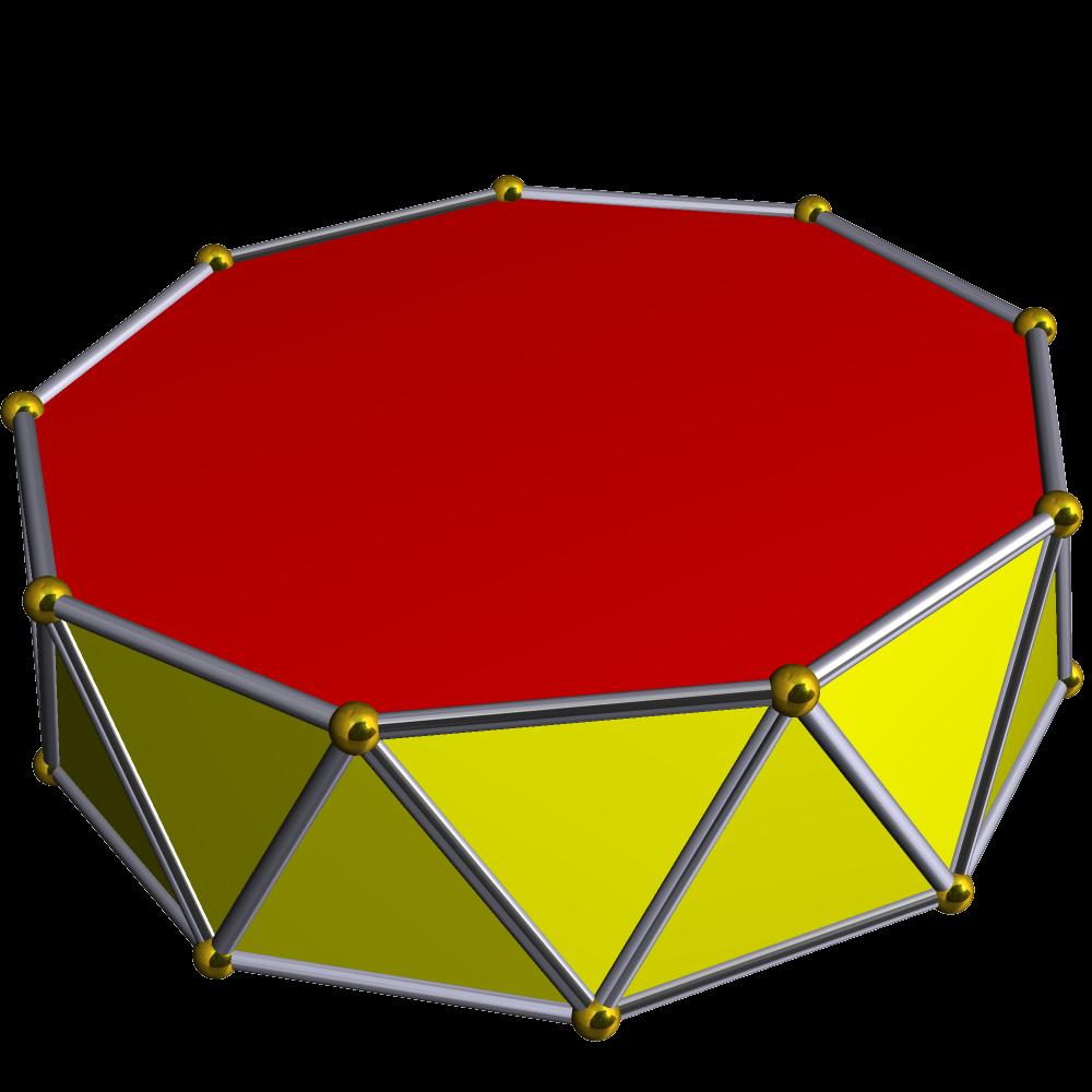 Enneagonal Antiprism