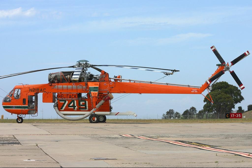 Elicottero S 64 F : 파일 erickson air crane sikorsky s f skycrane essendon