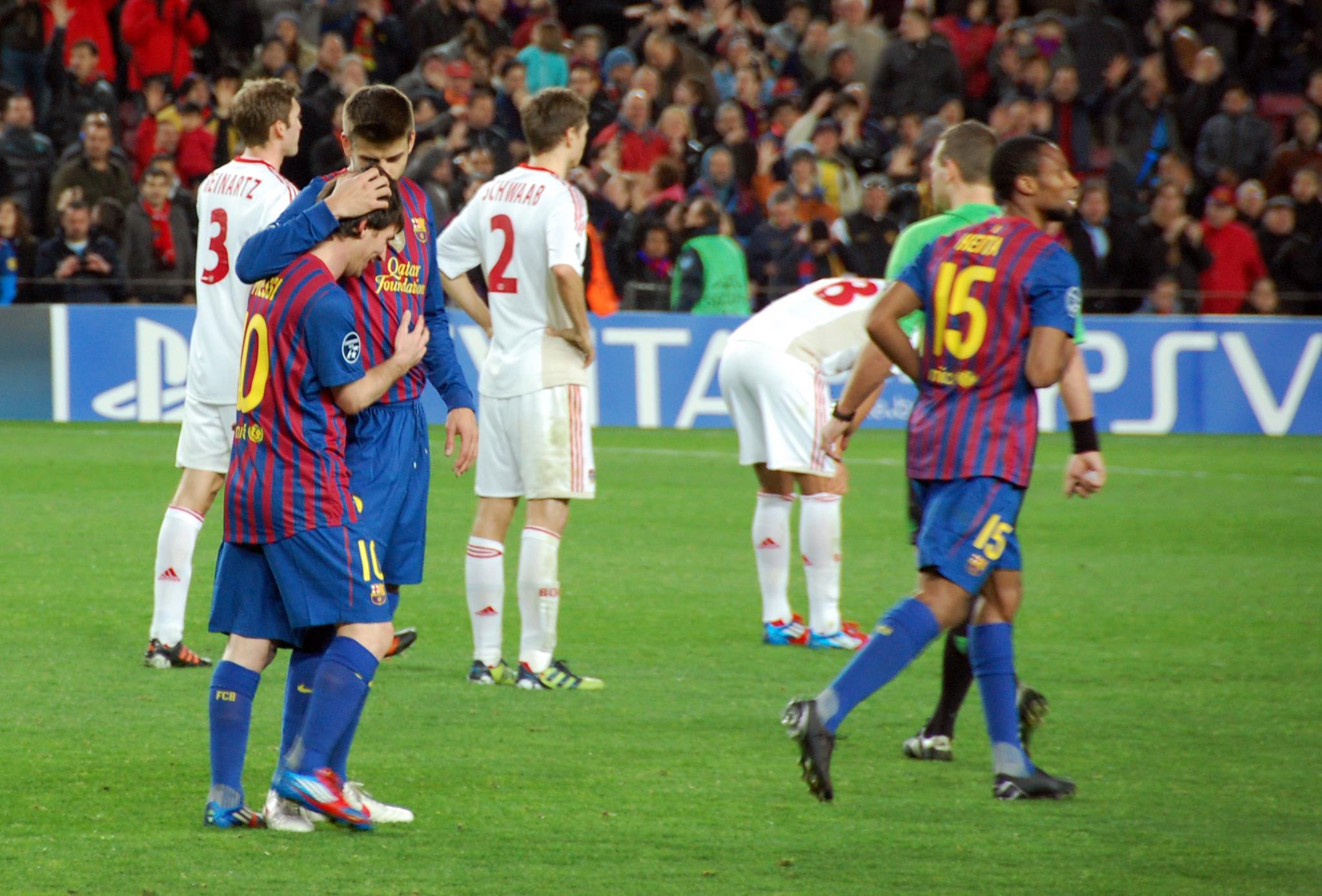 FC Barcelona - Bayer 04 Leverkusen, 7 mar 2012 (51).jpg English: FC Barcelona - Bayer 04 Leverkusen, 1/8 Final UEFA Champions League, Season