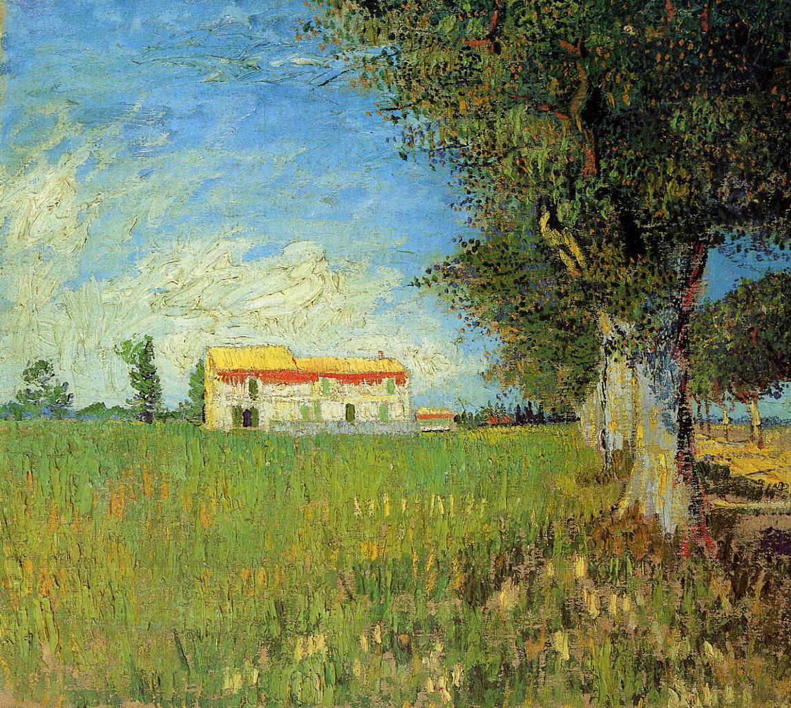 File Farmhouses in a Wheat Field Wikimedia mons