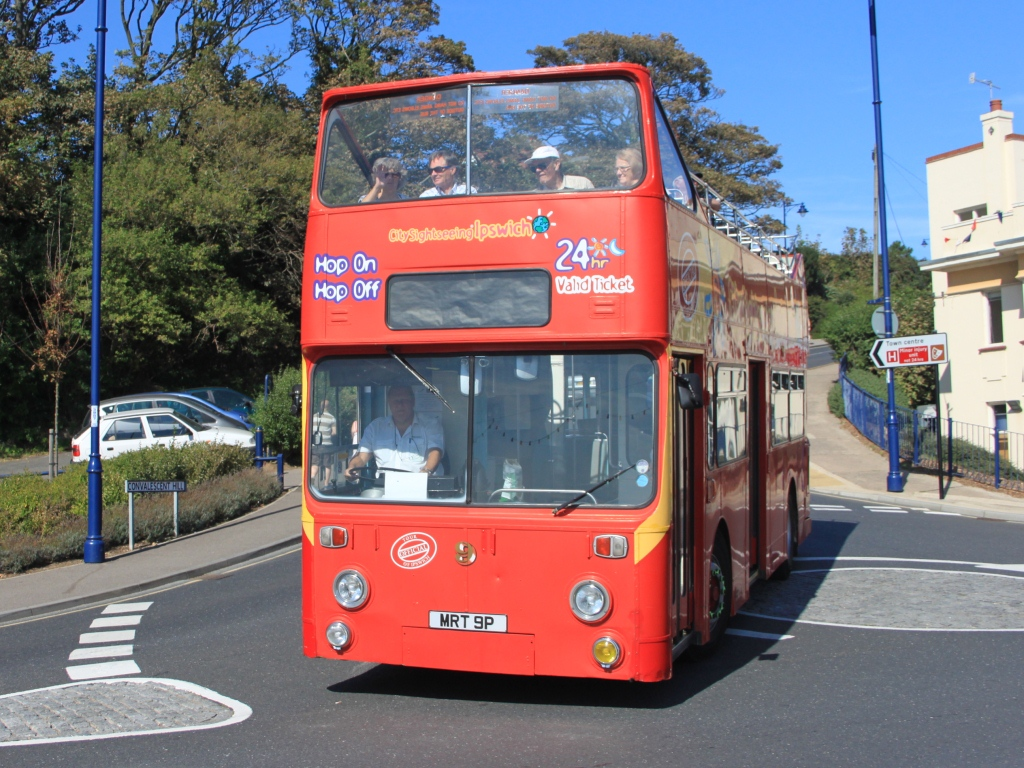 Ipswich open top bus