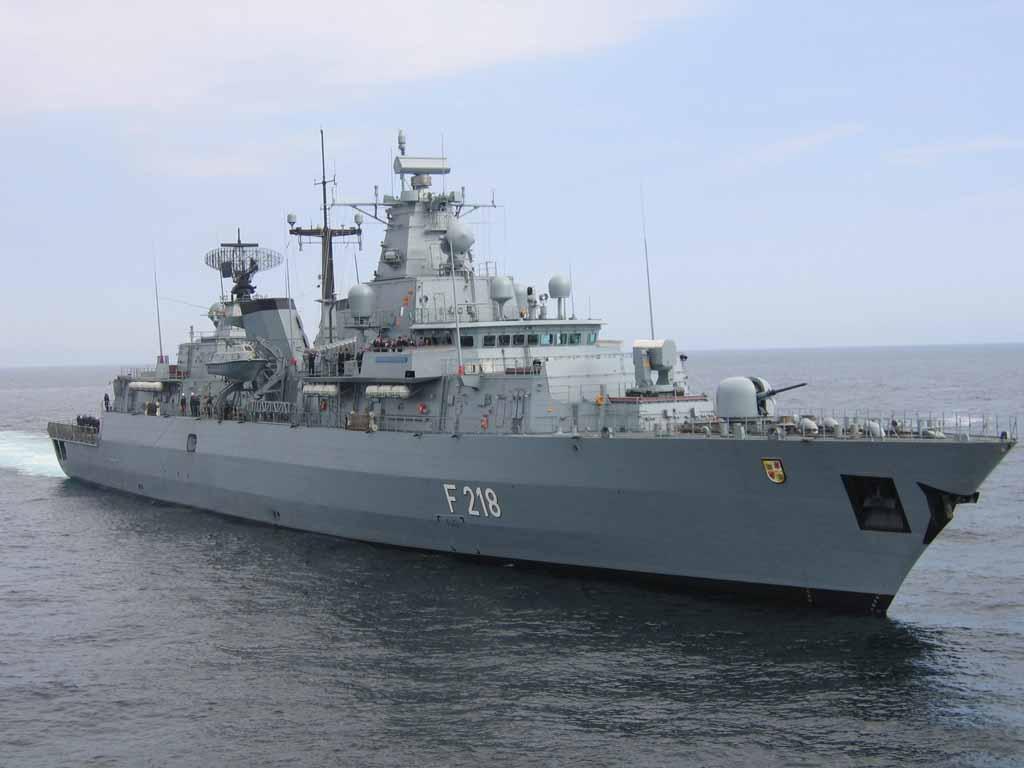 Fregatte Mecklenburg-Vorpommern der Deutschen Marine
