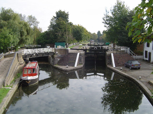 Grand Union Canal, Batchworth Lock, Rickmansworth - geograph.org.uk - 69120
