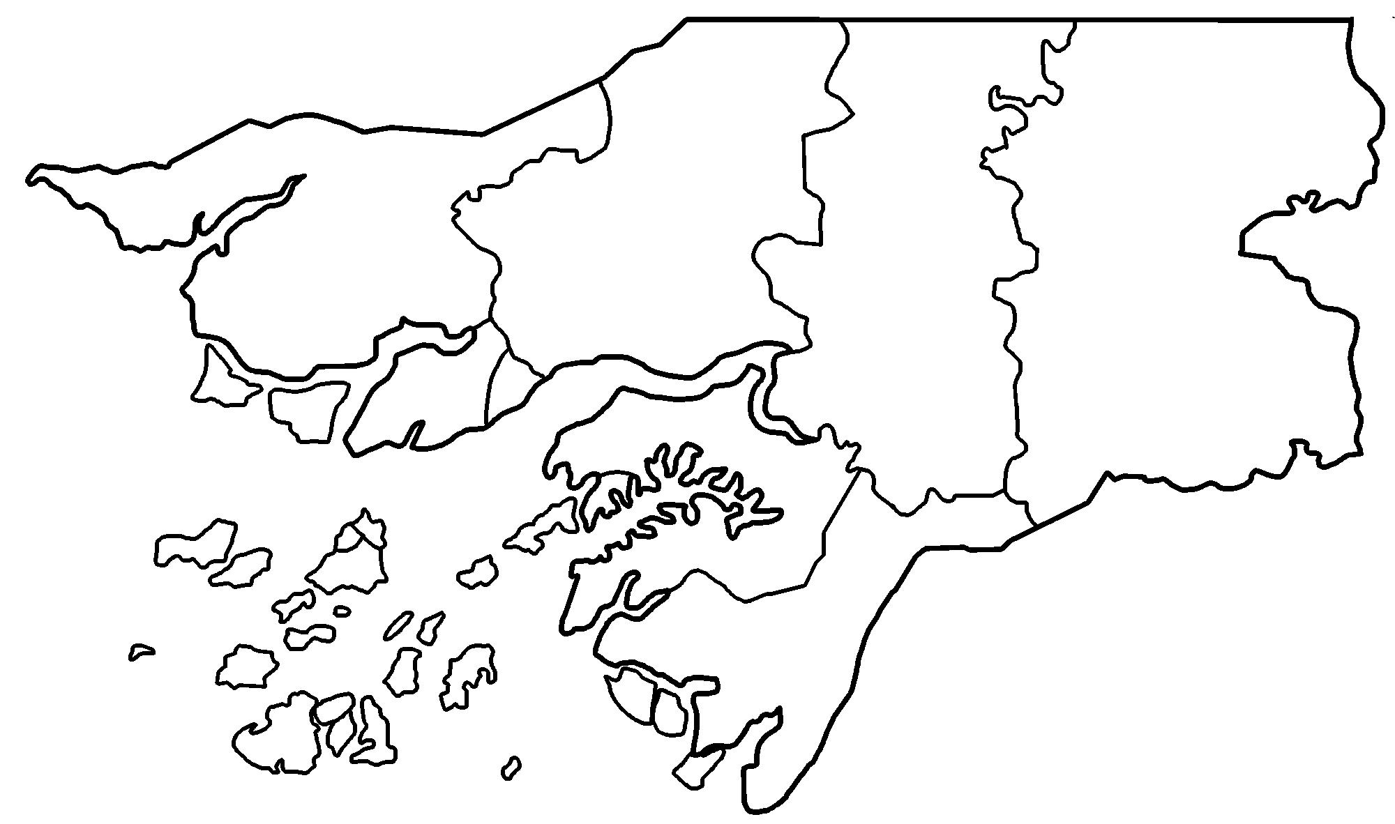 FileGuinea Bissau Regions Blankpng Wikimedia Commons - Guinea bissau map