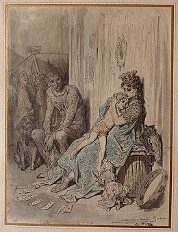 Fichier:Gustave Doré Les Saltimbanques (dessin).jpg