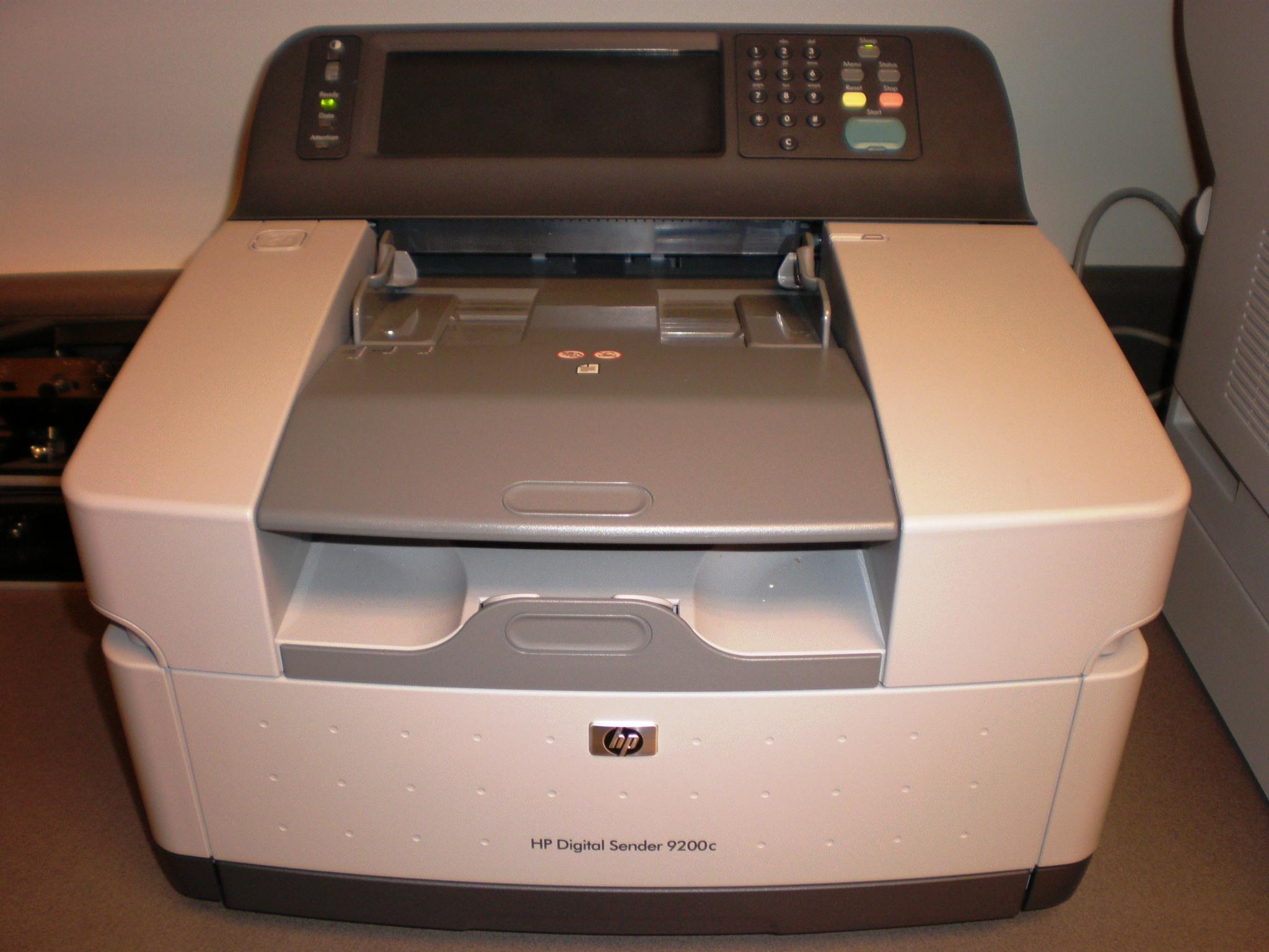 HP DIGITAL SCANNER 9200C DRIVER FOR PC