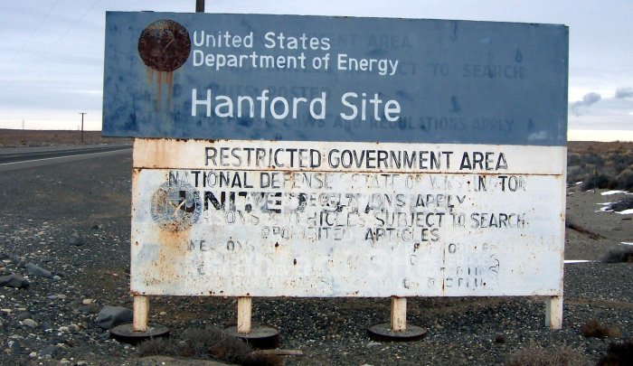 Archivo:Hanford Site sign.jpg