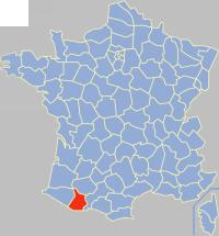 Communes of the Hautes-Pyrénées department
