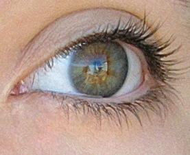 Blau Grün Braune Augen