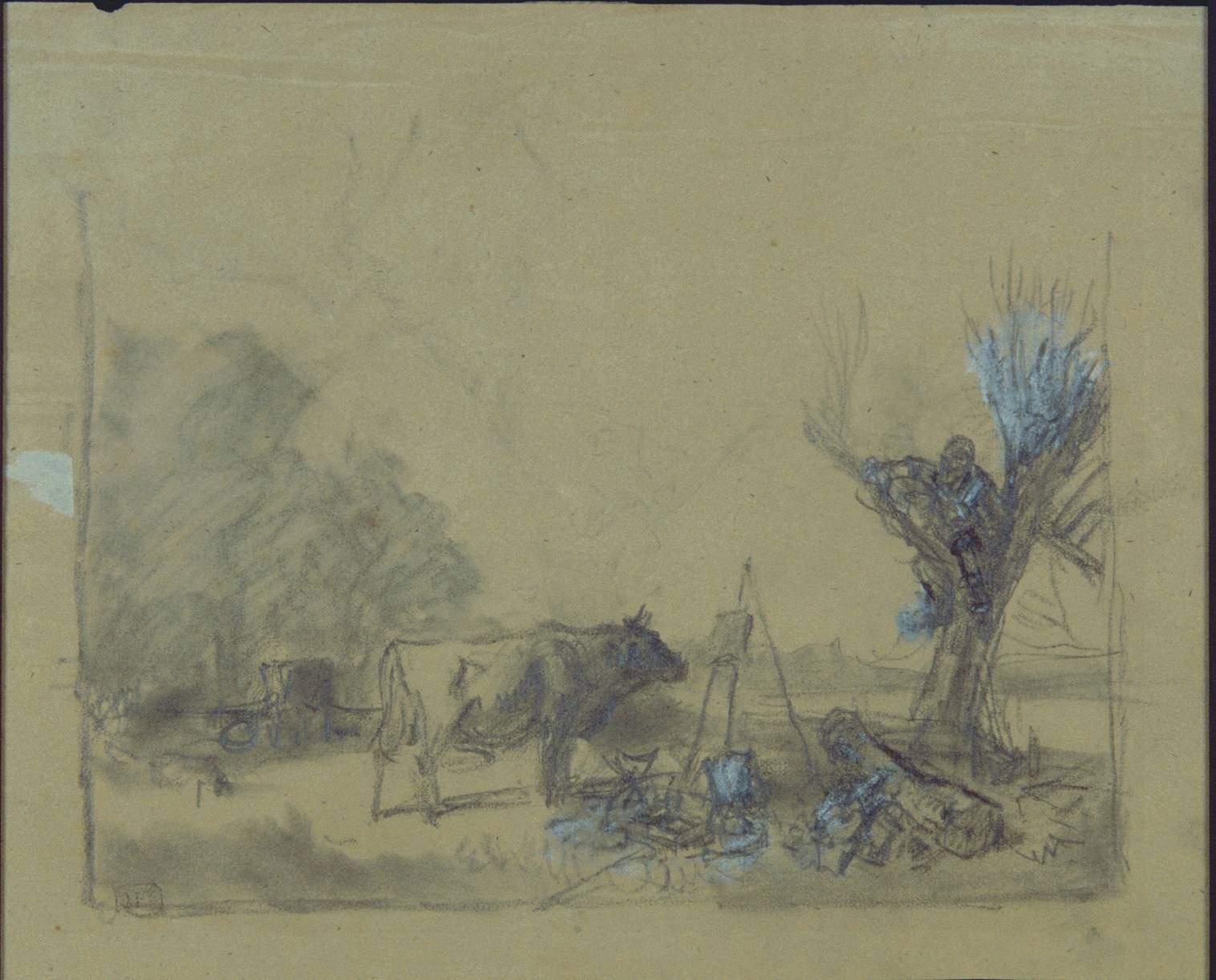 Maler Pirmasens file heinrich bürkel stier und maler zeichnung jpeg wikimedia commons
