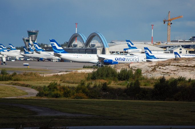 Helsinki Vantaa Airport (Helsinki Vantaa Airport). Official sayt.1