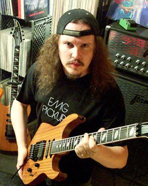 English: American Death Metal Guitarist James ...