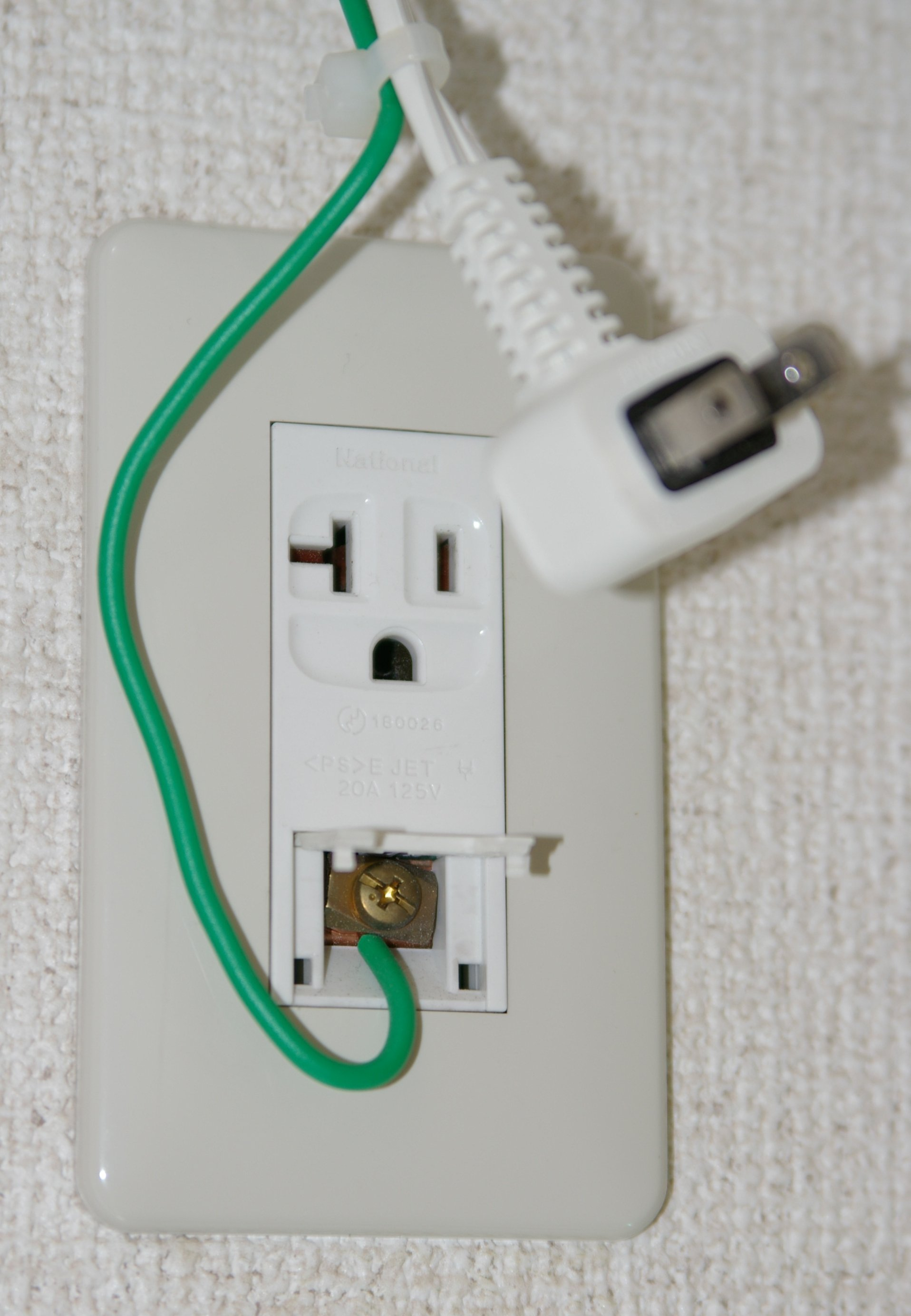 electrical japanese appliance has a green  yellow ground electrical socket wiring australia electrical socket wiring diagram uk