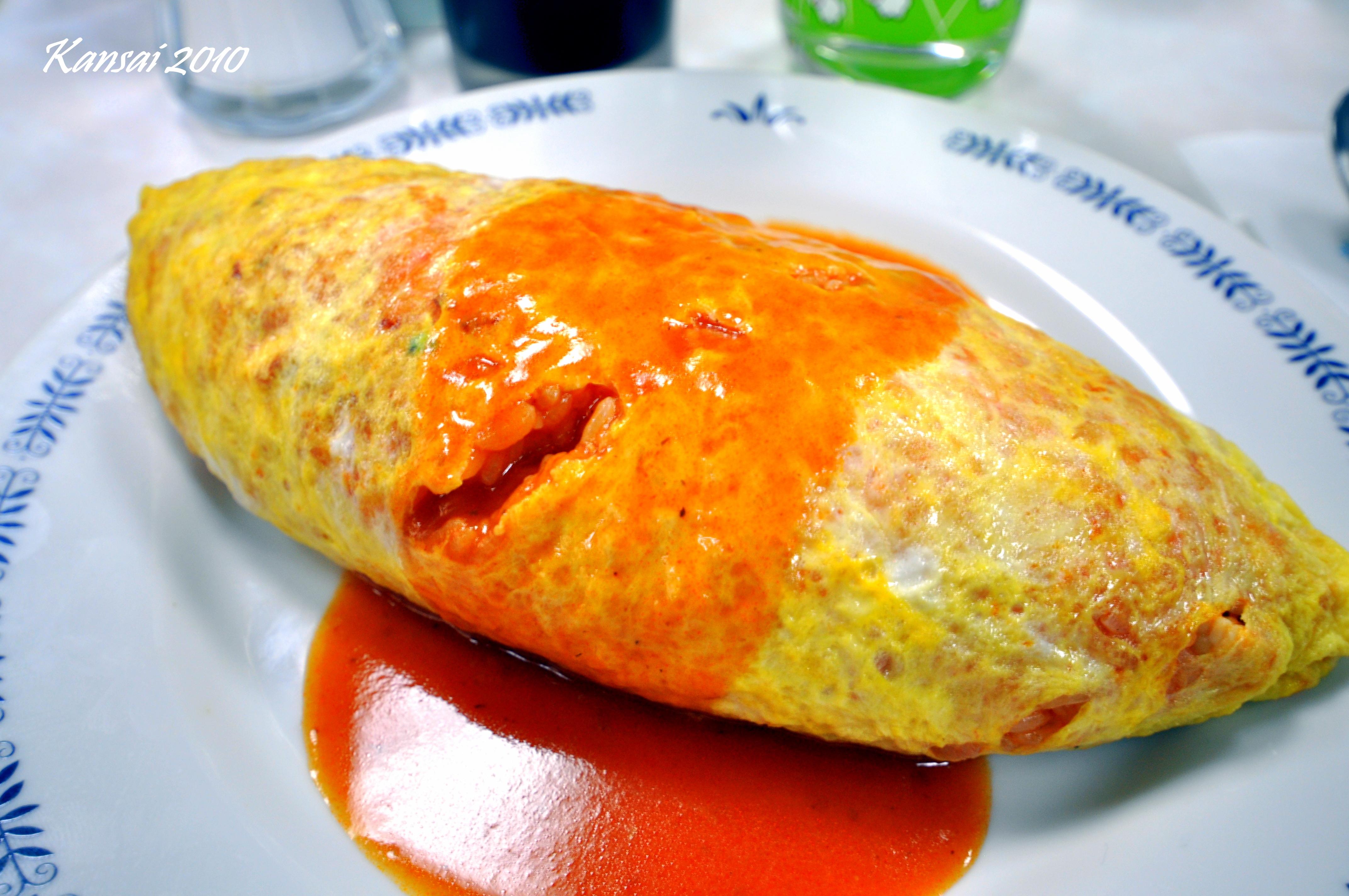 Jiyuken omelette rice