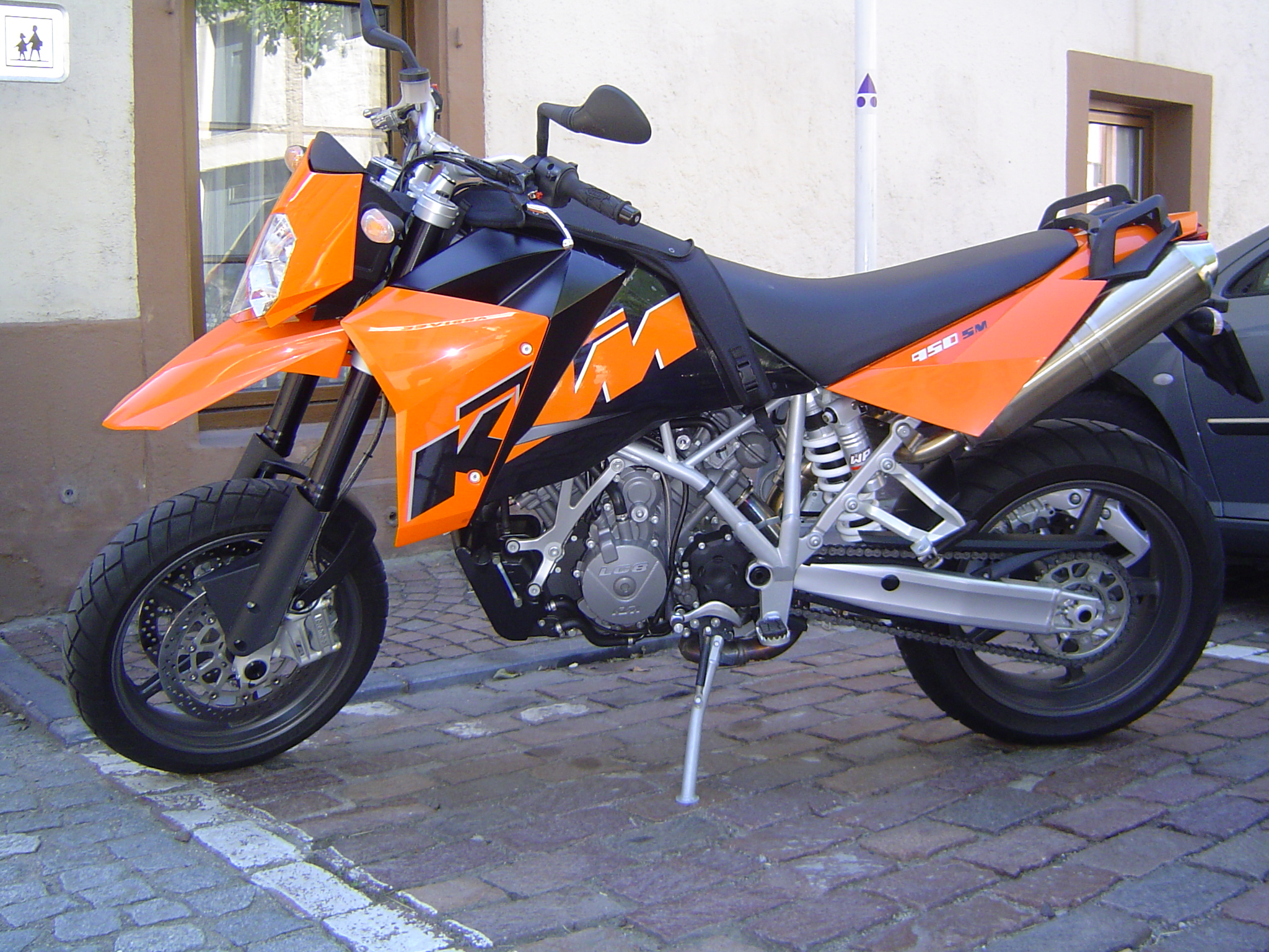 think I've found my upgrade! KTM 950 SM Anyone?