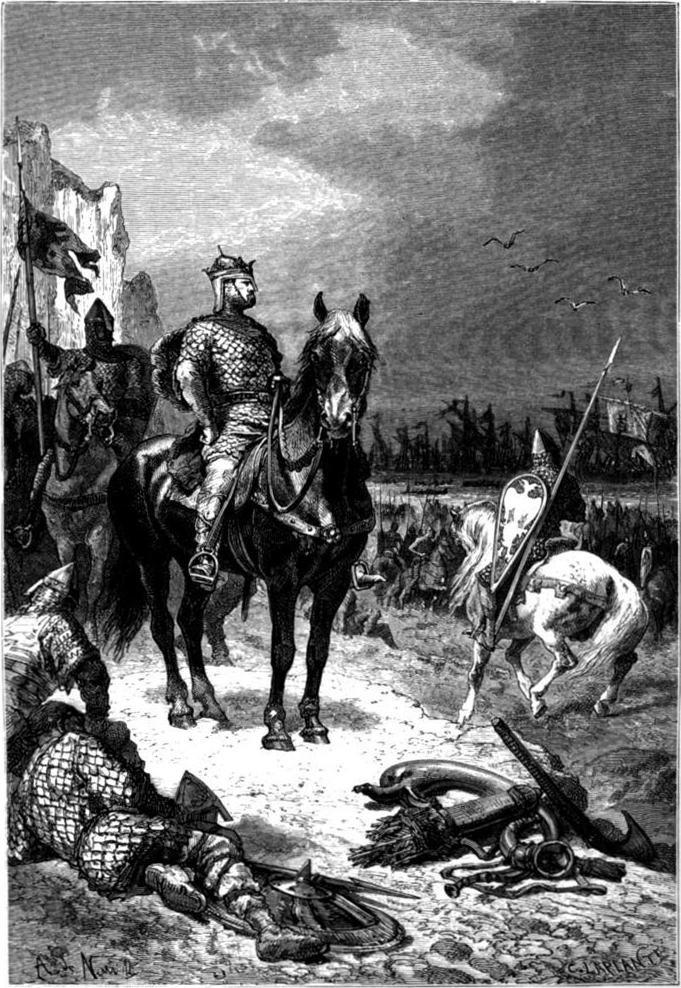 William the Conqueror landing in England