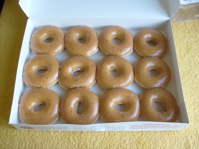 Bestand:Krispy Kreme Dozen Doughnuts 2.jpg - Wikipedia