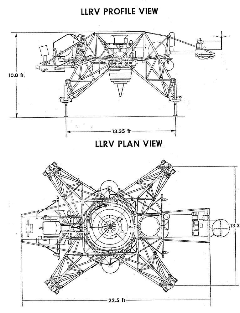 lunar landing research vehicle