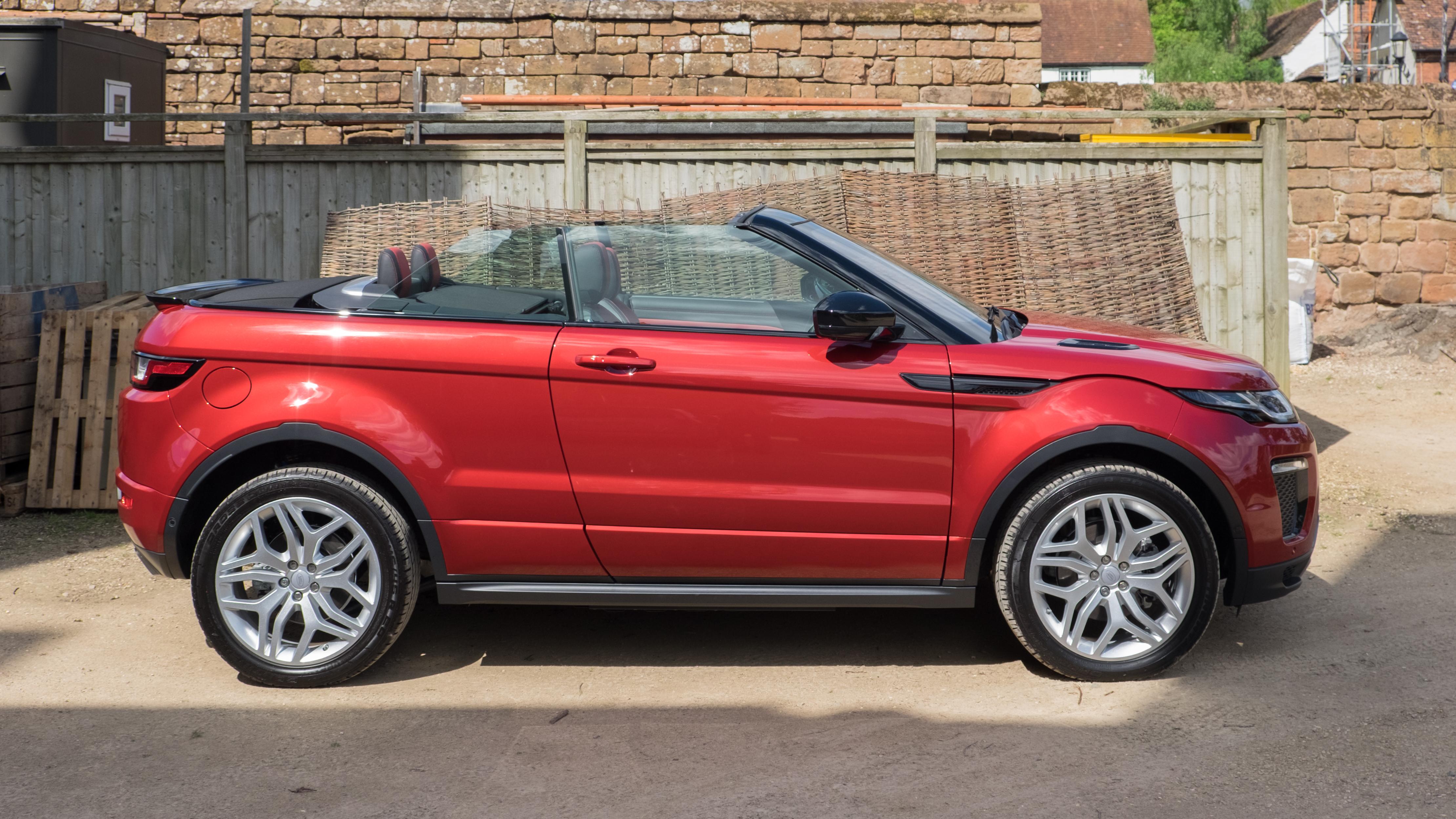 File Land Rover Range Rover Evoque Convertible 2016 Side Jpg Wikipedia