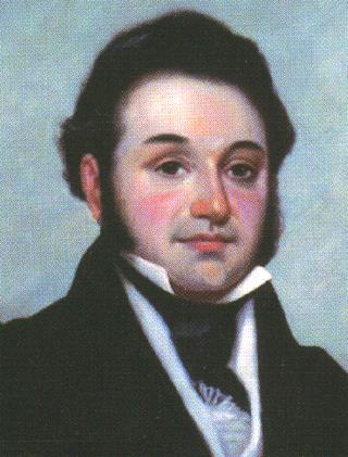 Lorenzo de Zavala, liberal federalist who played a major role in drafting the new constitution Lorenzo de Zavala.jpg