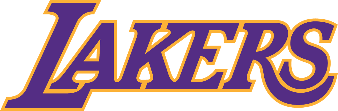 File Los Angeles Lakers Wordmark Logo 2001 Current Png