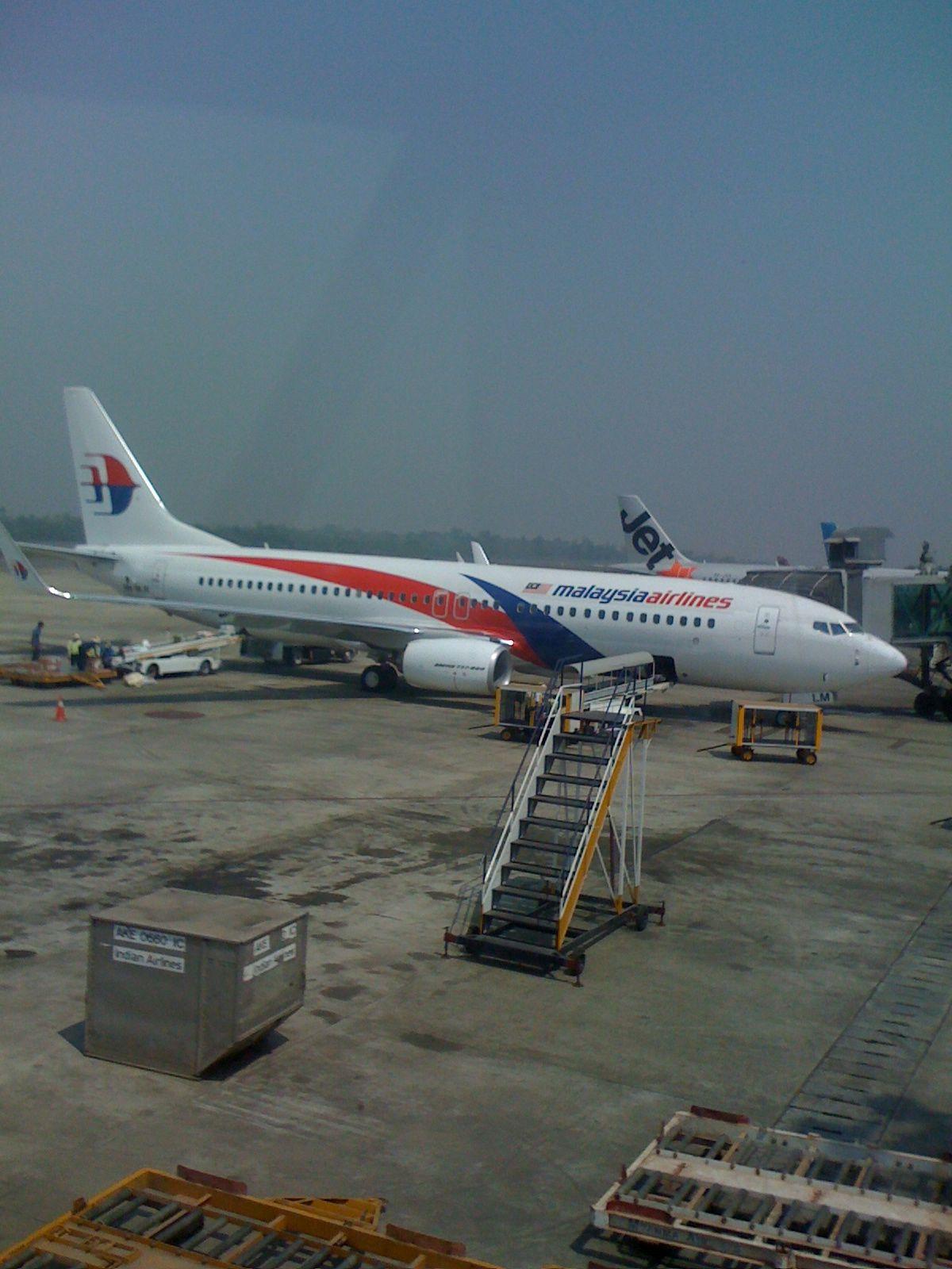 ... Airlines at... Yangon Airport