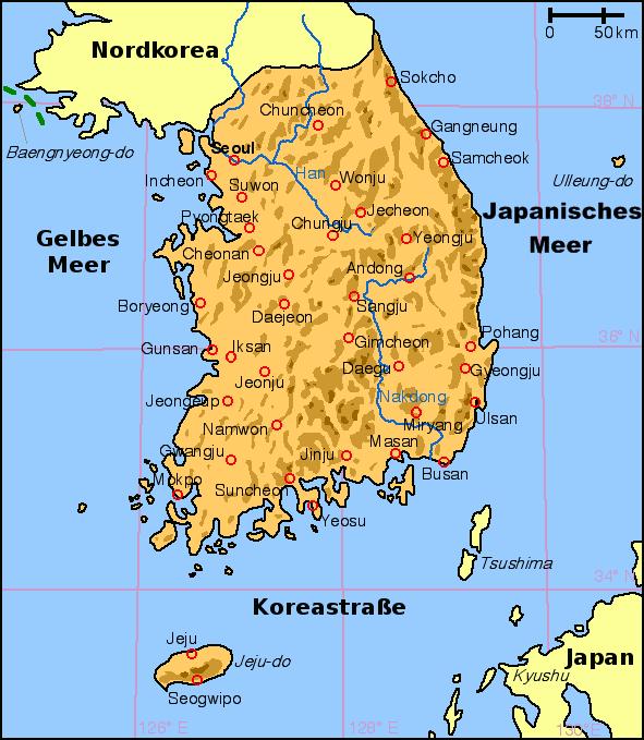 Südkorea Karte.Datei Map South Korea De Png Wikipedia