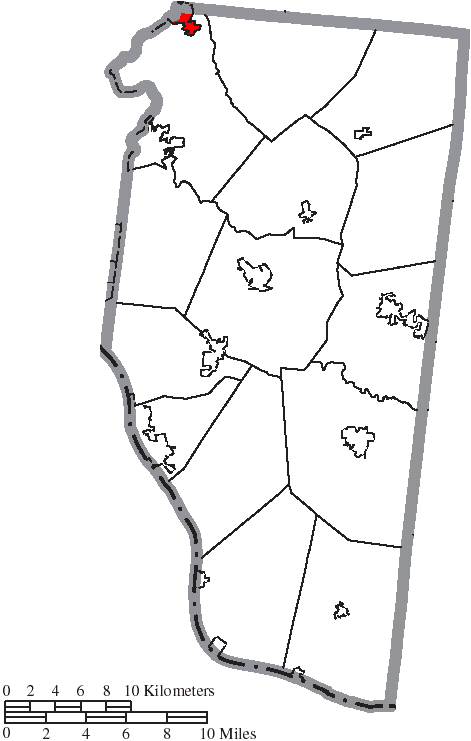 File Map Of Clermont County Ohio Highlighting Loveland City Png