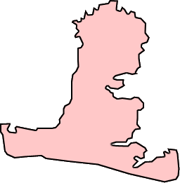 Map of Hayling Island, England.png