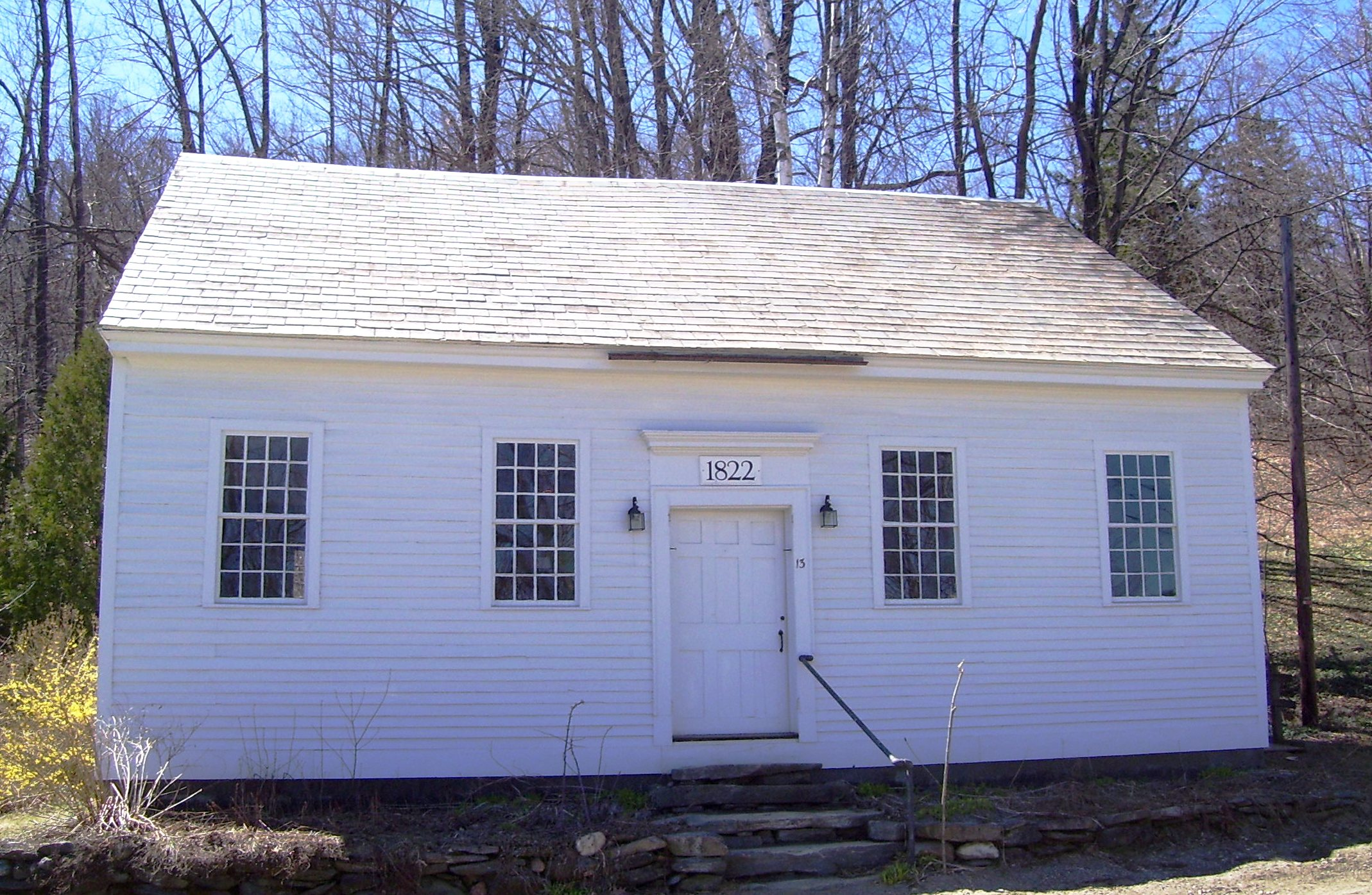 Town House, Marlboro, Vermont, built 1822 for Town Meetings