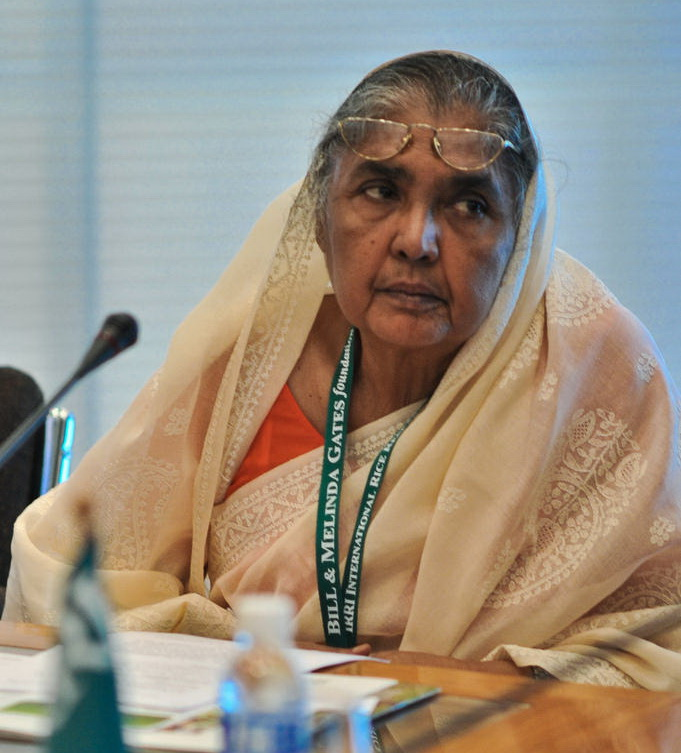 Matia Chowdhury, Bangladeshi Minister of Agriculture. By IRRI Photos [CC BY 2.0], via Wikimedia Commons