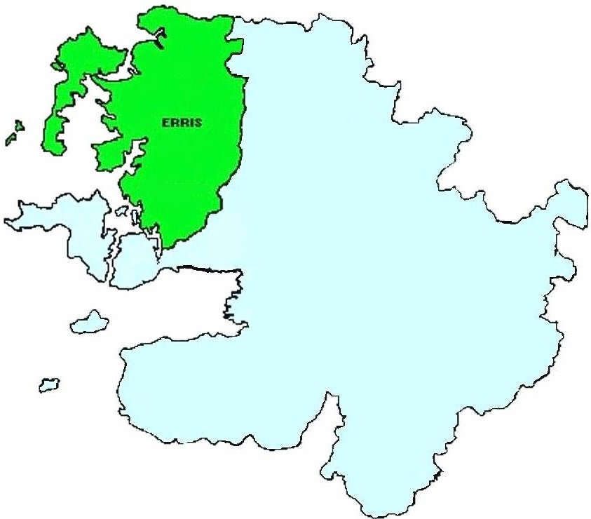 Map Of Ireland Mayo.Erris Wikipedia