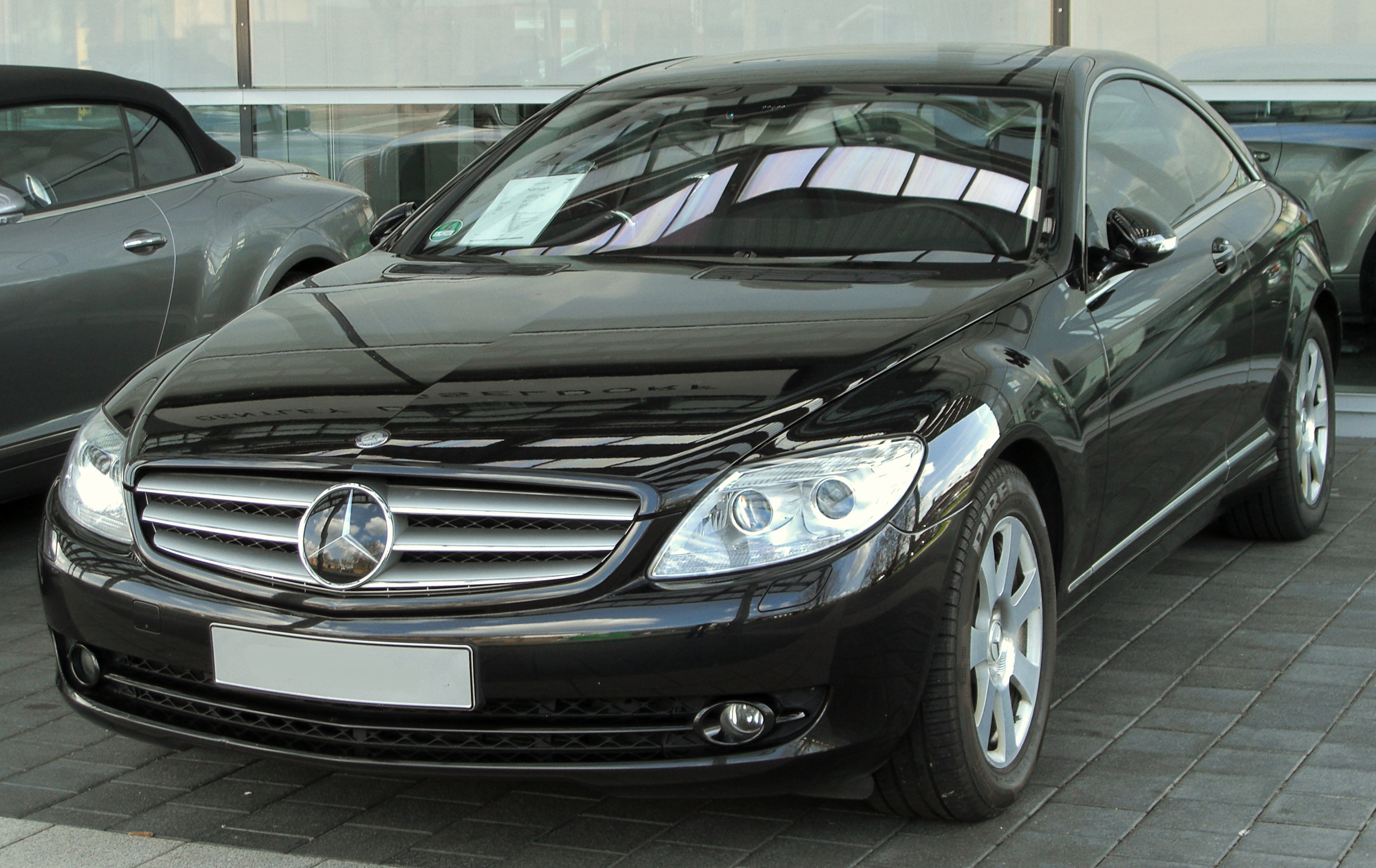 File mercedes cl 500 c216 front wikimedia for C 500 mercedes benz for sale