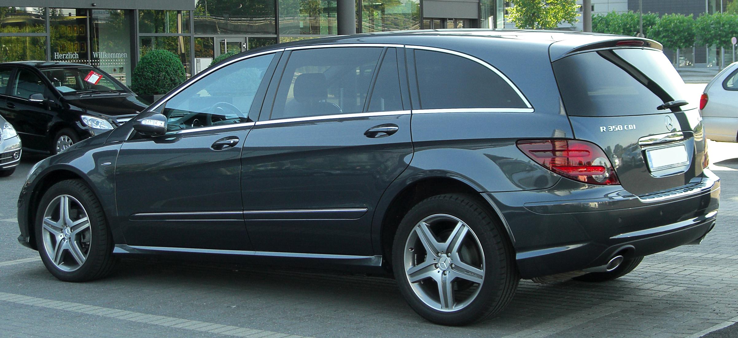 Mercedes R Cdi