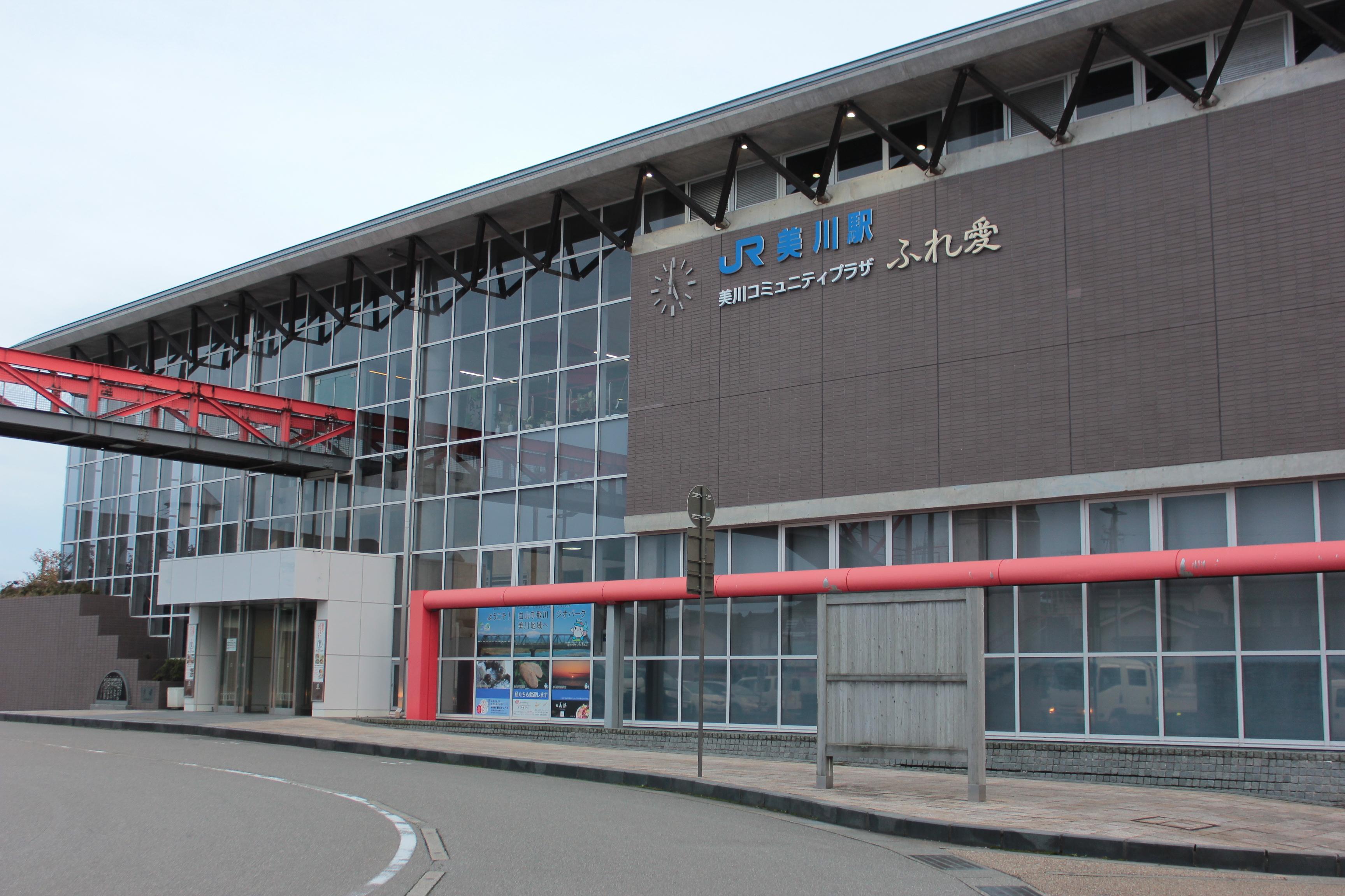 美川駅から金沢駅