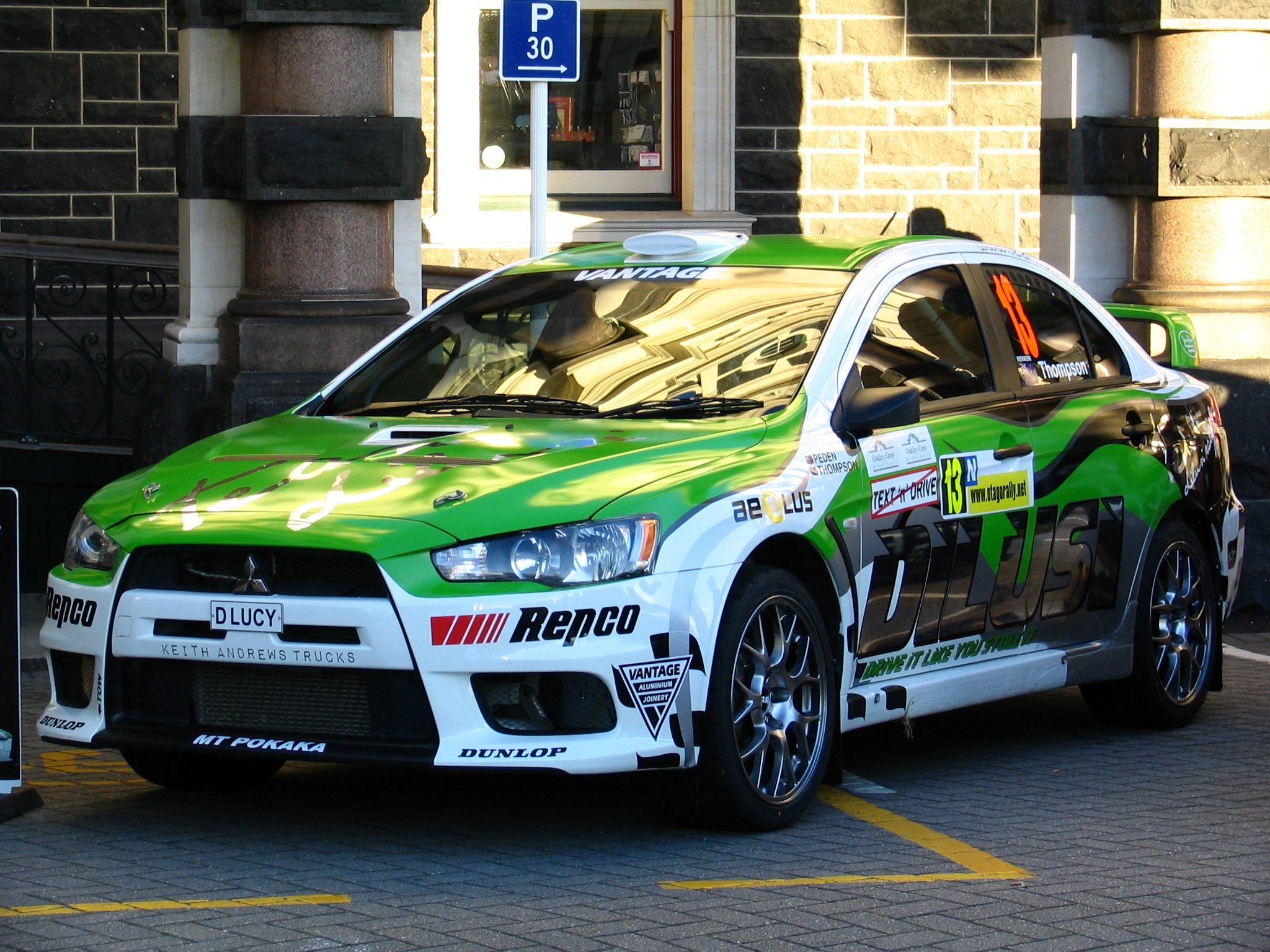 File:Mitsubishi Lancer EVO 10 Rally of Otago 2010.JPG - Wikimedia ...