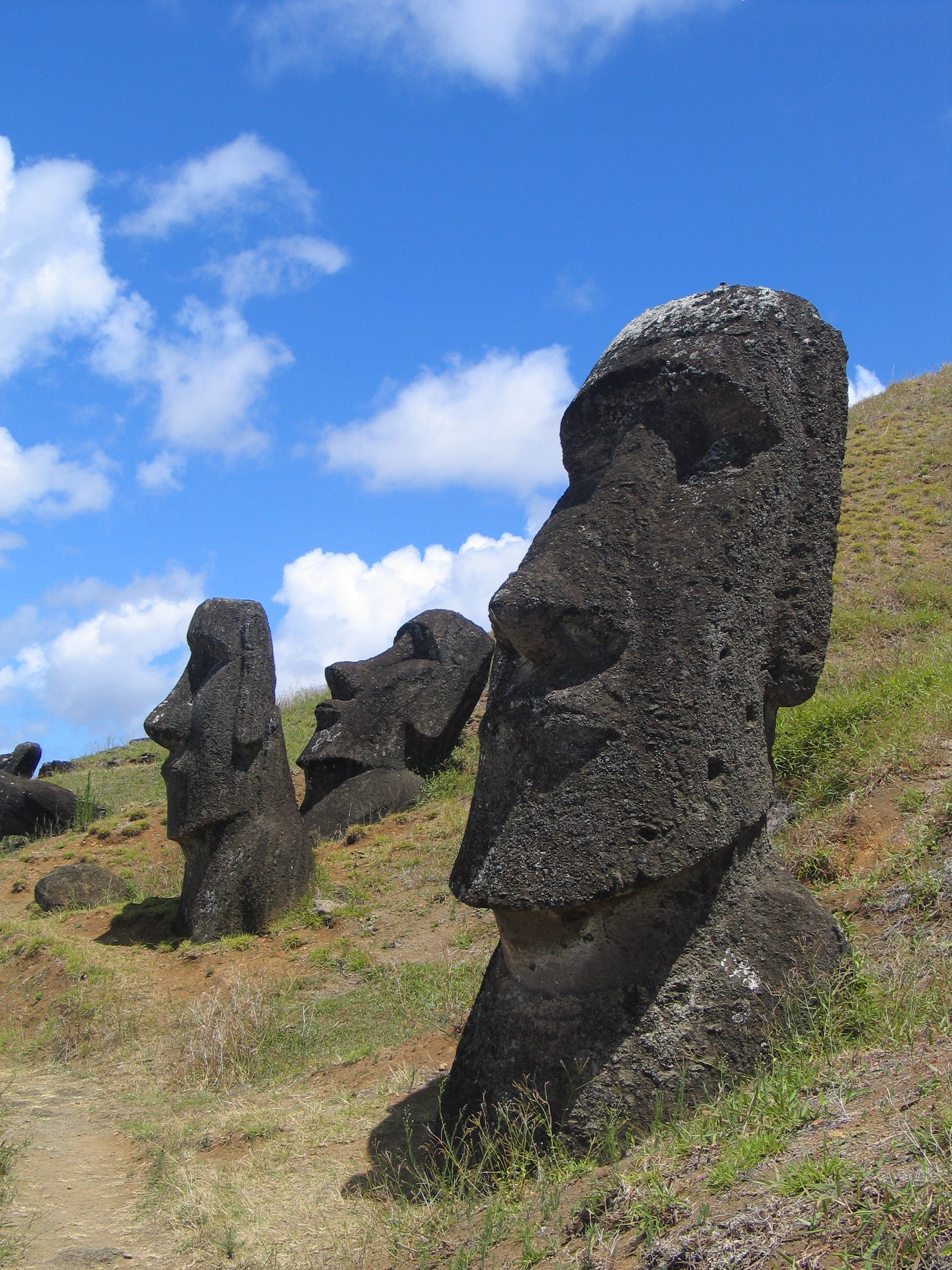 ... to be eithe... Easter Island Heads Have Bodies Snopes