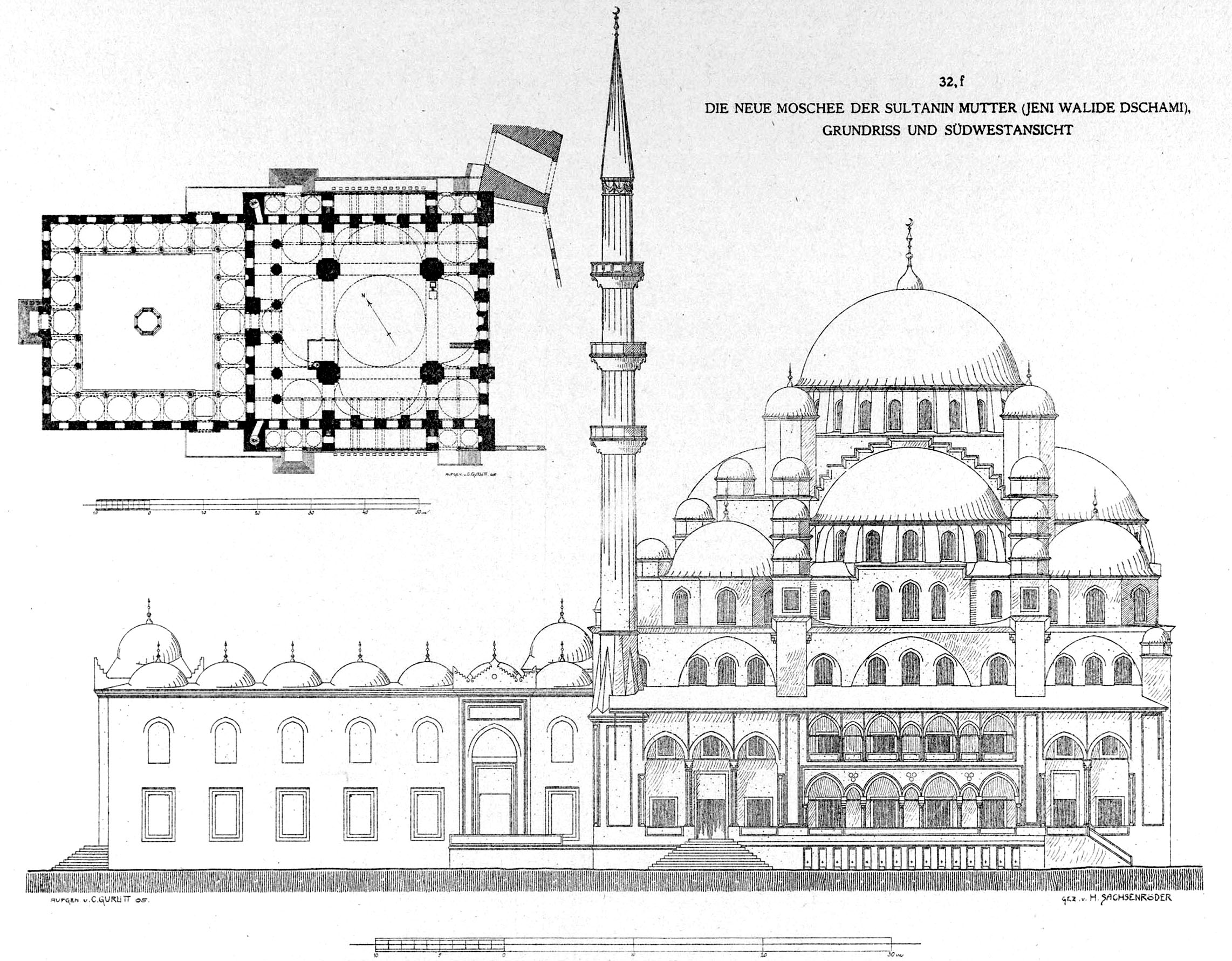 File New Mosque Istanbul By Gurlitt Wikimedia