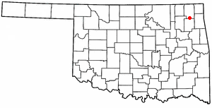 Big Cabin, Oklahoma Town in Oklahoma, United States