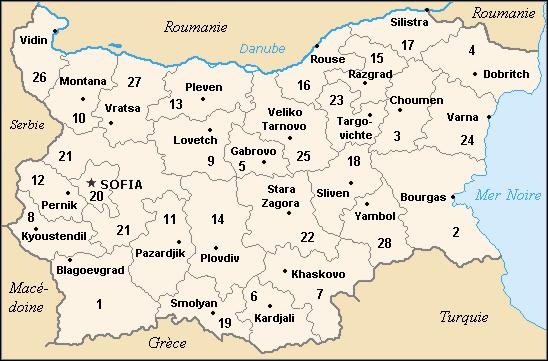 استانهای بلغارستان