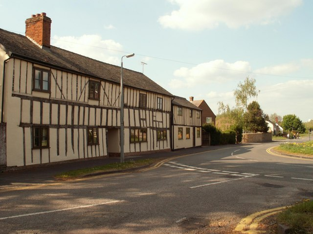 Old houses on Church Lane in Arlesey - geograph.org.uk - 1281365