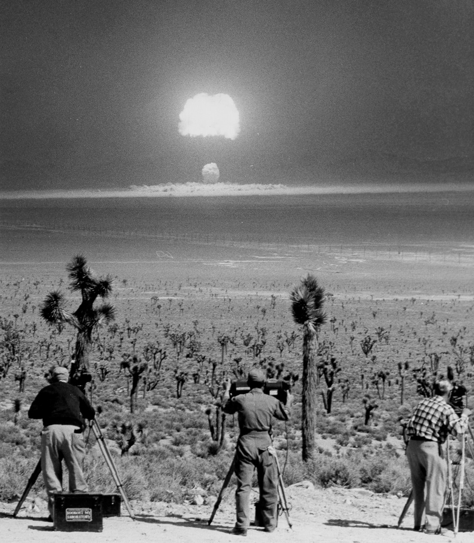 1955 Wasp Prime nuclear test in Nevada. (National Nuclear Security Administration / Nevada Site Office)