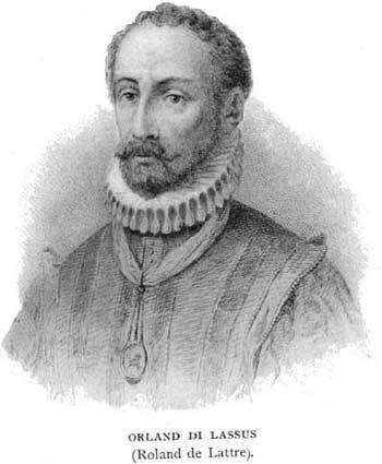 Depiction of Orlando di Lasso